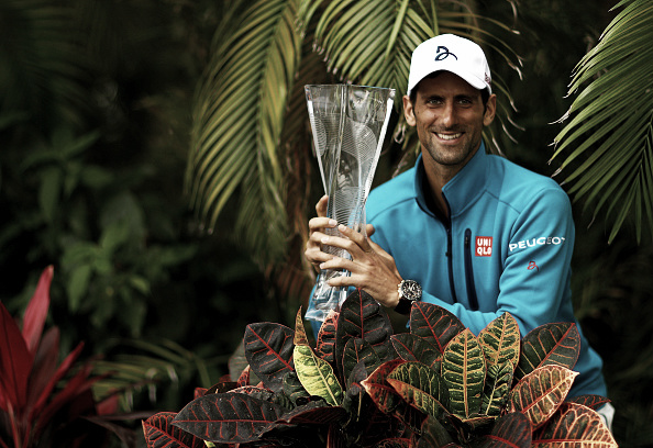 Miami was Djokovic fourth title of 2016 (Photo: Getty Images/Mike Ehrmann)