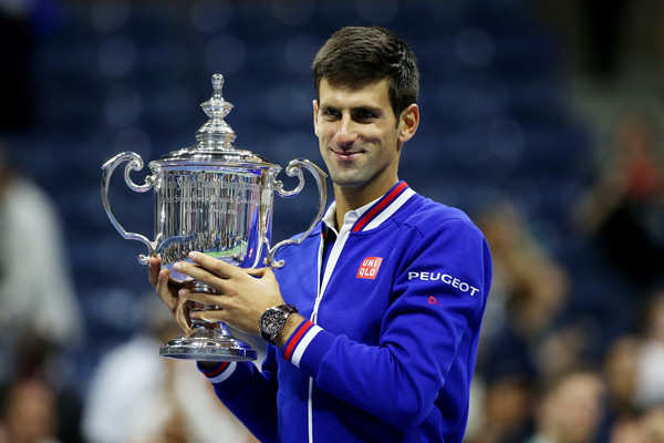 Djokovic is searching for his third US Open title (Photo by Matthew Stockman / Getty)