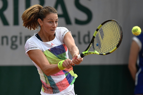 Duque-Marino fought hard but could not take her chances. Photo: Philippe Lopez/AFP/Getty Images