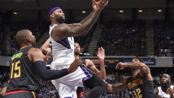 DeMarcus Cousins, uomo faro dei Sacramento Kings - Foto NBA.com