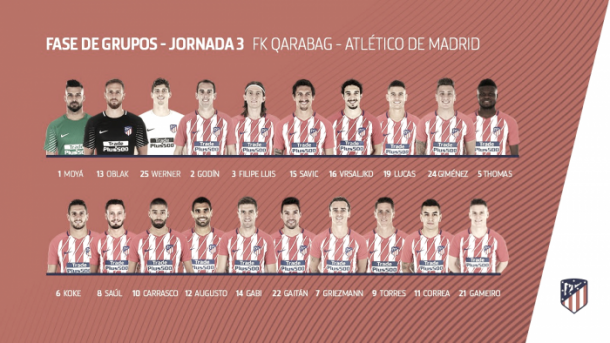 Atletico Twitter