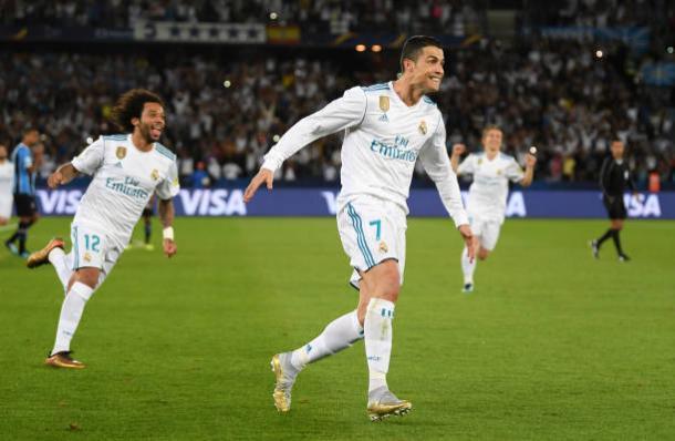 Cristiano foi decisivo mais uma vez | Foto: Mike Hewitt/Fifa