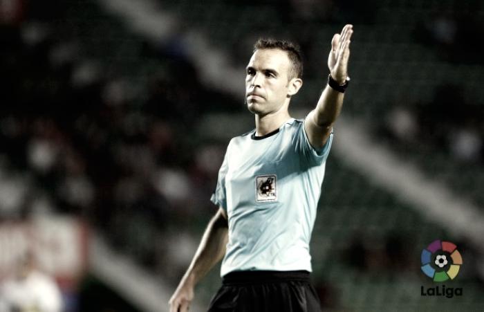 Cuadra Fernández en un partido de Liga | Foto; LaLiga