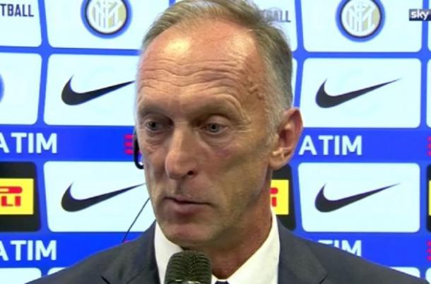Domenichini parla a Sky Sport sostituendo Spalletti. | Foto: fcinter1908.it