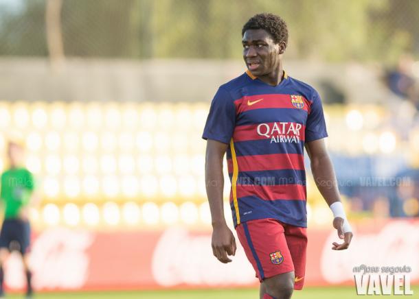 Dongou, una de las promesas que ya no está en el Barça / Foto: M. Jose Segovia (VAVEL.com)