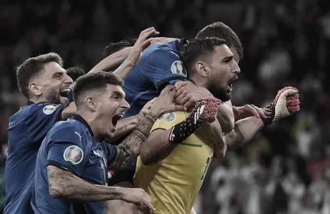 Donnarumma, figura absoluta en Italia   Foto: UEFA