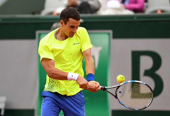 Donskoy struggled right from the start against his more illustrious opponent (Photo: Getty Images/Dennis Grombkowski)