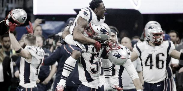 Donta Hightower, bastión importante de la defensa patriota (foto New England Patriots)