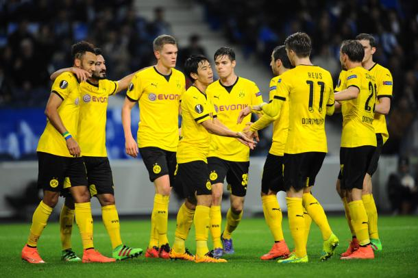 Dortmund will pose a huge threat (photo: getty)