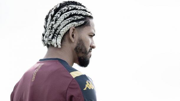 Douglas Luiz solo tuvo un entrenamiento | Foto: Aston VIlla