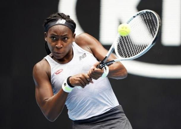 Gauff is aiming to equal her best result at a major/Photo: Kim-Jong Hi/Reuters
