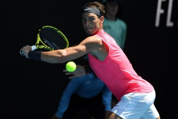 Nadal has cruised through the first rounds at Melbourne Park/Photo: John Donegan/AFP via Getty Images