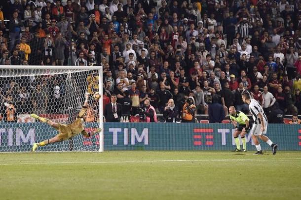 Il rigore parato a Dybala nella lotteria finale, www.quotidiano.net