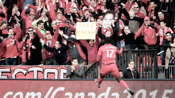 Jozy Altidore has urged the supporters to back the team l Photo: CP24.com