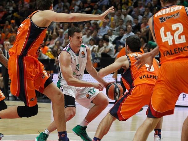 Dragan Milosavljevic (Unicaja). | Foto: Euroleague