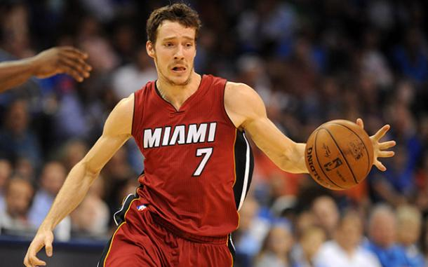 Goran Dragic has led Heat's recent playoff charge. Photo: USATSI