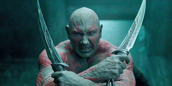 Batista plays 'Drax' in the Marvel franchise. Photo: www.comicvine.com