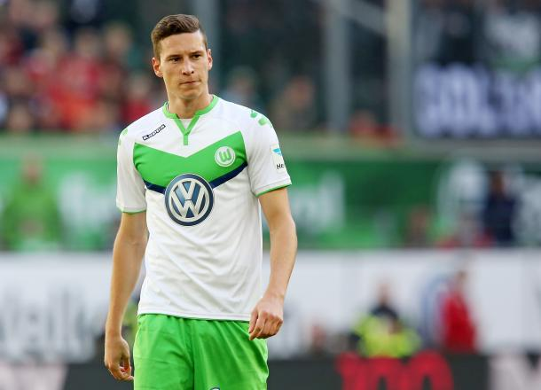 United have reportedly made a bid for Julien Draxler (Photo: Getty Images)