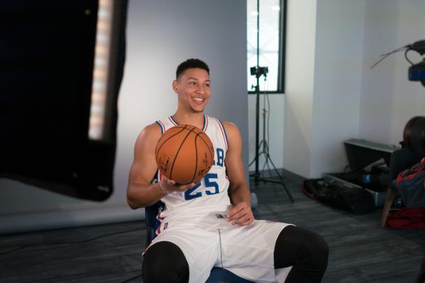 Ben Simmons, la gran joya que tiene Philly. Y su gran esperanza. / Foto: NBA.