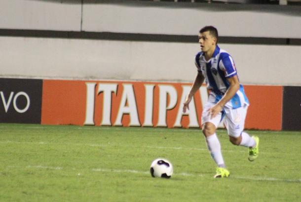 Ausência em Caxias do Sul, Ricardo Capanema volta a ser opção (Foto: Fernando Torres/Paysandu SC)