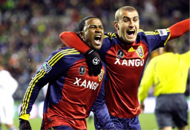 The last time Yura Movsisyan faced the Los Angeles Galaxy was in the 2009 MLS Cup Final. Photo provided by AP Photo.
