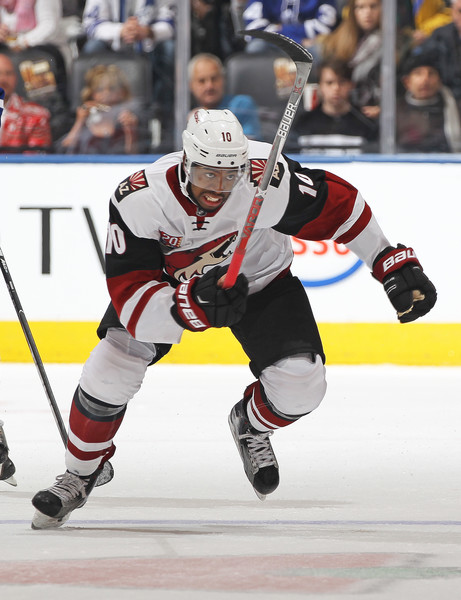 Anthony Duclair will be playing in Tucson until he gets his offense back. Source: Claus Andersen/Getty Images North America)