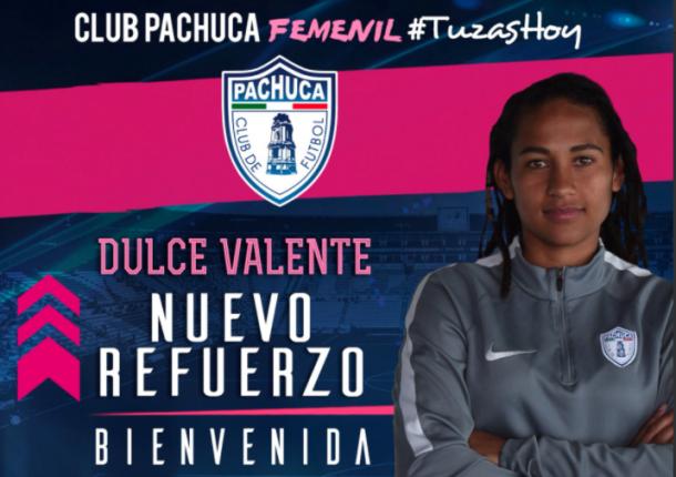 Foto: Twitter | Club Pachuca Femenil