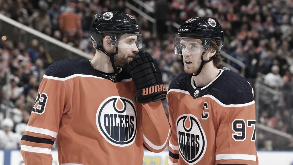 Draisaitl y McDavid ganan partidos, pero necesitarán compañía para ganar la Stanley ! Foto: NHL.com