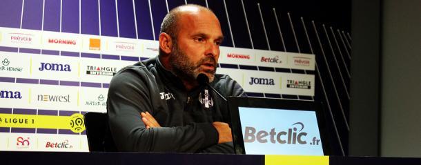 Pascal Dupraz, durante una rueda de prensa. | FOTO: TFC.info