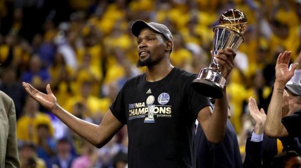 Kevin Durant también fue el MVP de las Finales (Foto: Sports Illustrated)