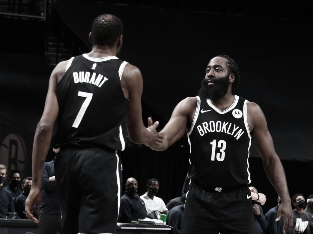 Harden y Durant, una dupla con experiencia   Foto: NBA