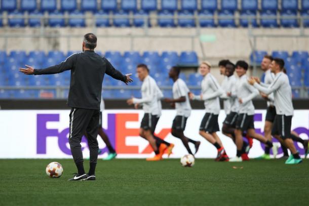 Inter mot salzburg i uefa