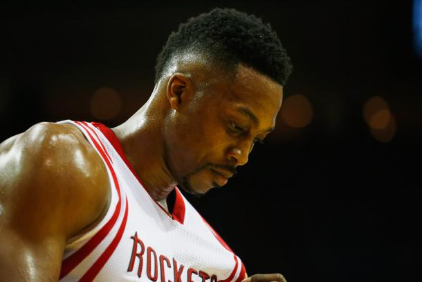 Will Dwight Howard play on a fourth different team in six years? Photo:Scott Halleran/Getty Images North America