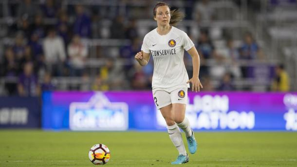 Rachel Corsie will be a prominent figure for Scotland | Source: nwslsoccer.com