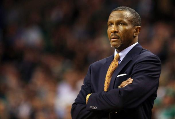 Dwane Casey will always have defense as his number one priority. Photo: Brian Snyder/Reuter File Photo