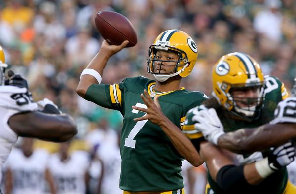 Moldes de Aaron Rodgers: Hundley aparenta cada vez mais ser o sucessor perfeito para os Packers | Foto: Dylan Buell/Getty Images)