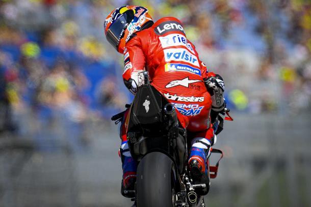 El italiano tiene ahora 172 puntos. Imagen: MotoGP