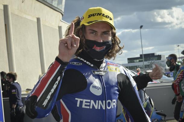 Joe Roberts logró su tercera pole en Le Mans. Imagen: MotoGP