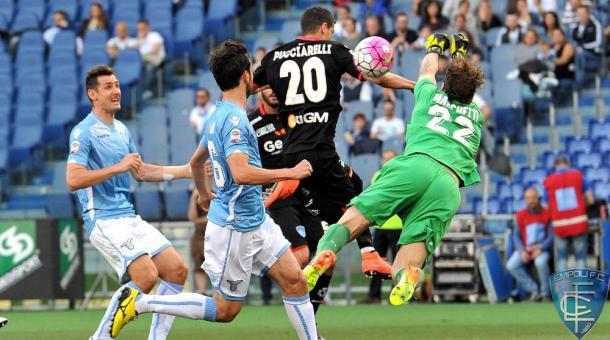 Lazio-Empoli 2-0, empolicalcio.net