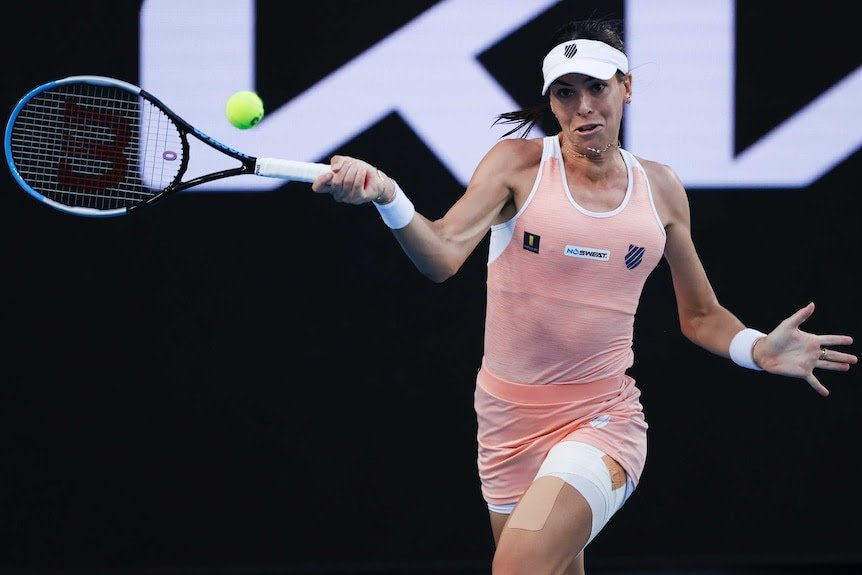Tomljanovic got off to a good start in her second round match/Photo: Rick Rycroft/Associated Press