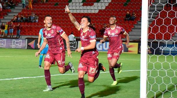Seis goles acumula el volante y capitán del equipo 'pijao'. | Foto: Gol Caracol