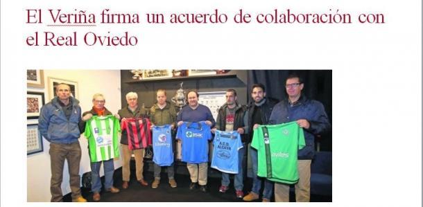 Vallina posa junto a representantes de clubes afiliados   Foto: El Comercio