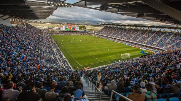 The San Jose Earthquake are making the Avaya Stadium a fortress with only three defeats in 17 matches in the MLS regular season. Photo provided by Vicki Thompson.