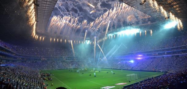 Inauguración Estadio BBVA. Foto: BBVA