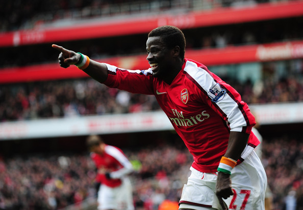 Could Eboue be on his way to Sunderland? (photo: getty)