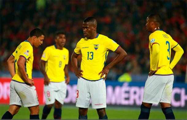 Ecuador will be looking to erase the chip on their shoulder when it comes to Brazil on Saturday against Rose Bowl. Photo provided by Getty Images.