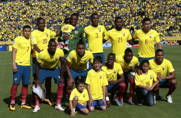 Ecuador expecting to surprise more in Copa. Photo: EL UNIVERSO