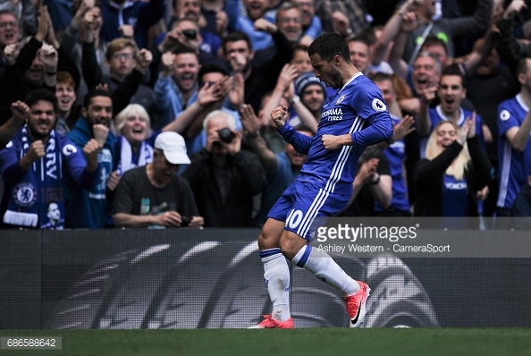 The Blues will be without their superstar Eden Hazard to begin the season. (Source: