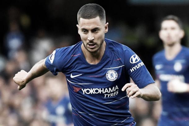 Eden Hazard se perfila para iniciar el partido como titular | Foto: Premier League