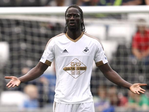 Éder con la camiseta del Swansea. Foto: Swansea City